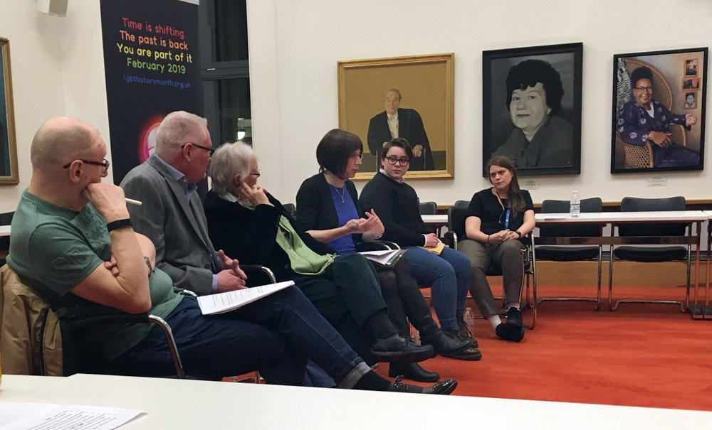 LGBT+ Personal Histories Panel at the University of Leicester