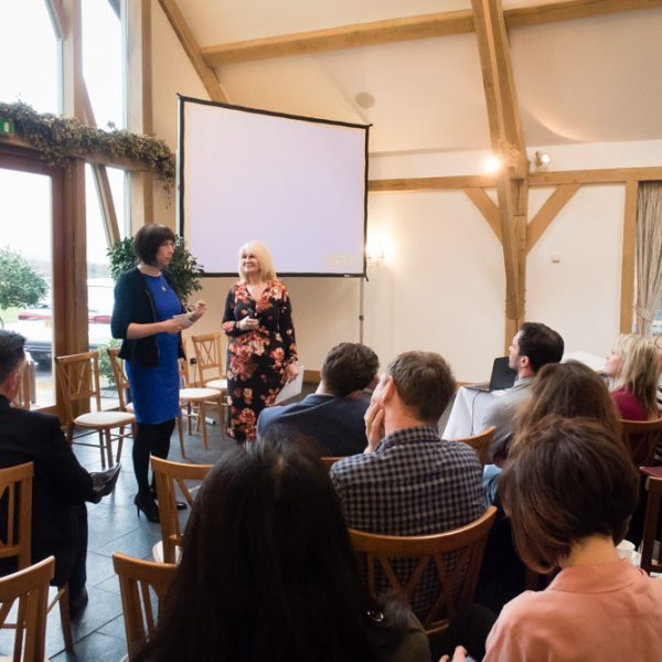 Presentation to 110 Business People