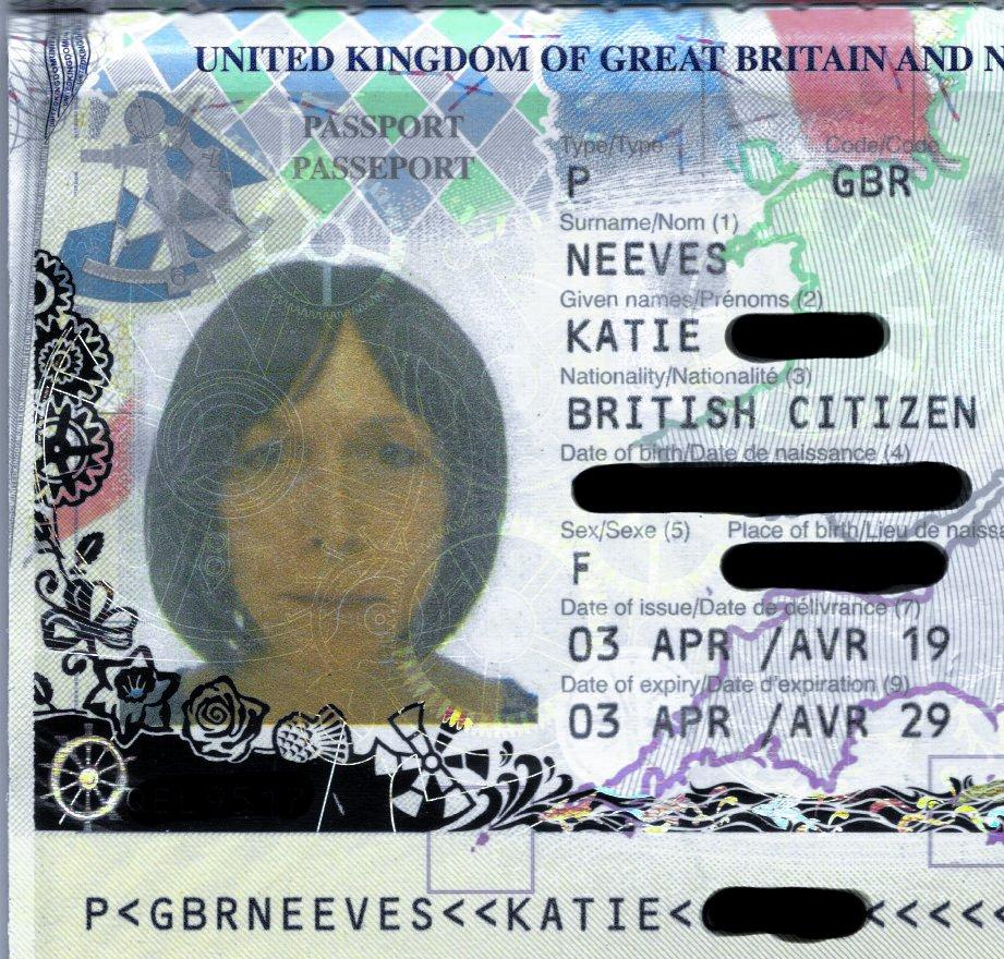 My new passport has arrived!