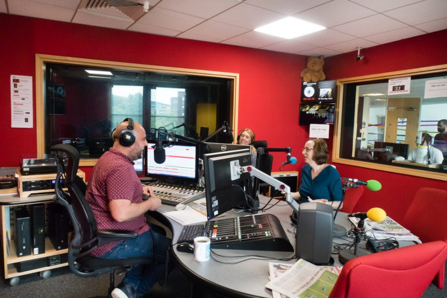 BBC Radio Leicester Breakfast Show Interview