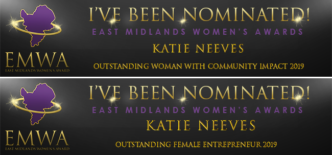 Nominations for 2 Awards!
