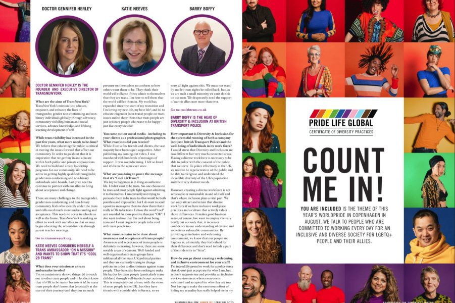 Featured in Pride Life Global magazine!